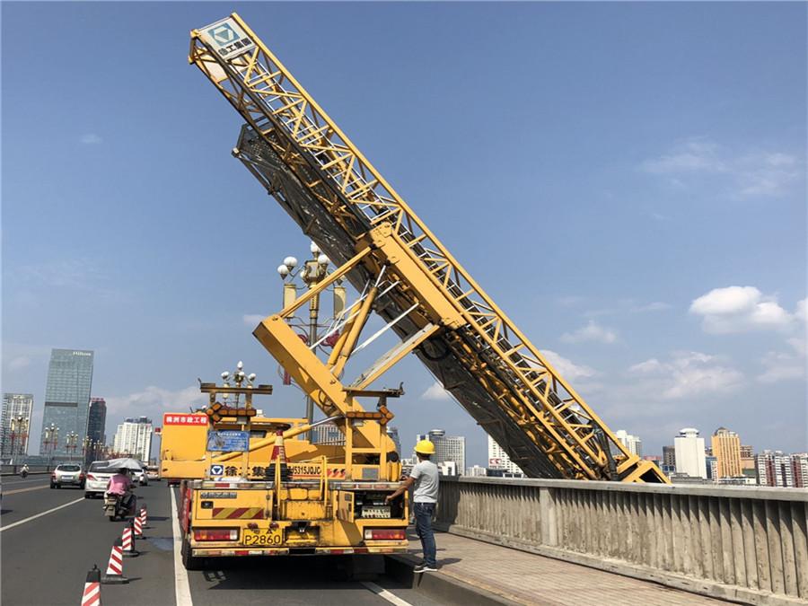 庐山21米桥梁检测车出租,樟树桥检测租赁质量第一